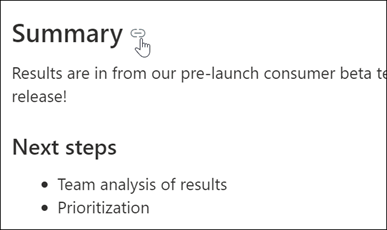 Príklad prepojenia na ukotvenie stránky