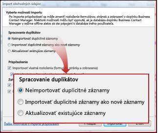 Snímka obrazovky snastavenými predvolenými programami