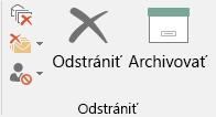 Archivácia jedným kliknutím