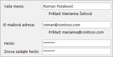 Stručný návod pre zamestnancov: Vytvorenie e-mailového konta v Outlooku