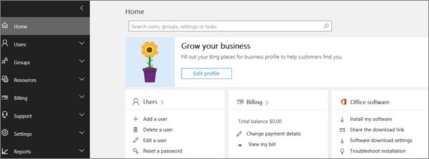 Centrum spravovania služieb Office 365