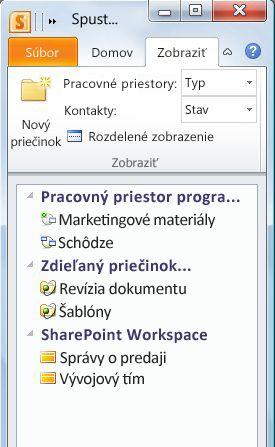 Pracovné priestory kategorizované podľa typu