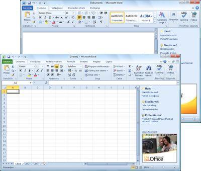 Word Starter in Excel Starter