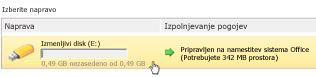 Upravitelj naprav »Microsoft Office Starter za s seboj«