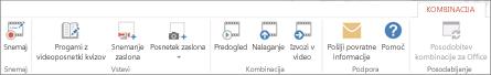 Zavihek Office Mix