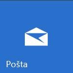 Ploščica »Pošta« v sistemu Windows 10