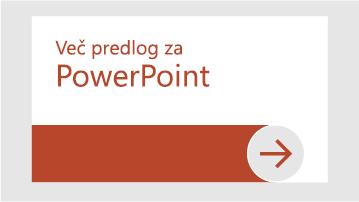 Več predlog za PowerPoint
