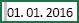 Celica, v kateri je pred vrednostjo 1. 1. 2016 izbran presledek