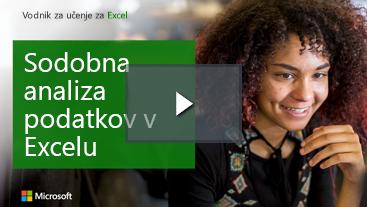 Ženska smejoč učenje vodnik za Excel