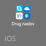 Druge Officeove aplikacije za iOS