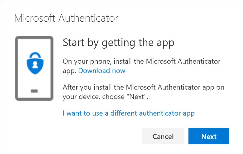 Začnite tako, da se stran aplikacije