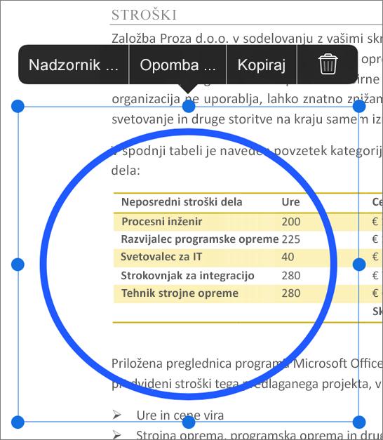 Urejanje oznak v PDF-ju