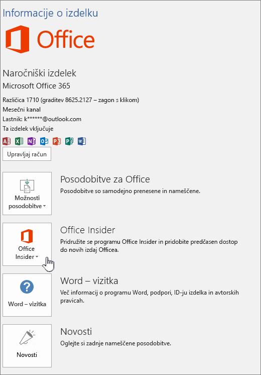 Office Insider in – aplikacija, ki jo želite izbrati.