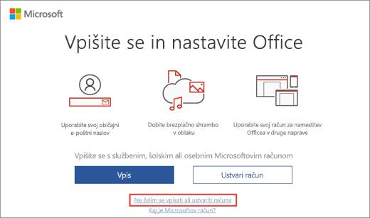 Prikazuje povezavo, ki jo kliknete za vnos ključa izdelka, pridobljenega v okviru programa Microsoft HUP