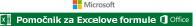 Pomočnik za Excelove formule