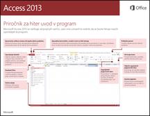 Priročnik za hiter začetek dela za Access 2013