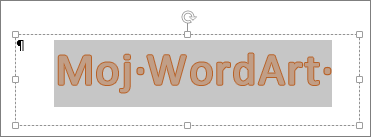 Izbrani WordArt