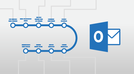 Plakat usposabljanje programu Outlook 2016
