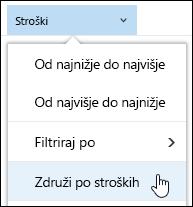 Dokument knjižnico skupine tako, da pogleda v storitvi Office 365