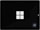 Zaslon z logotipom družbe MS z ikono postopka vnovične izgradnje predpomnilnika