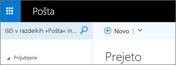 Videz traku v storitvi Outlook Web App