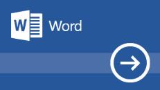 Izobraževanje za Word 2016