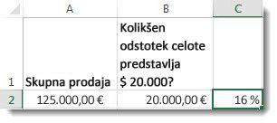 125.000 EUR v celici a2, 20.000 EUR v celici b2 in 16 % v celici c2