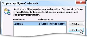Send/Receive Groups Dialog Box