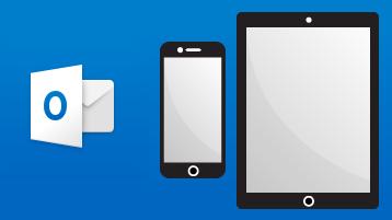 Naučite se uporabljati Outlook v napravi iPhone ali iPad