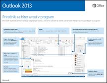 Priročnik za hiter začetek dela za Outlook 2013