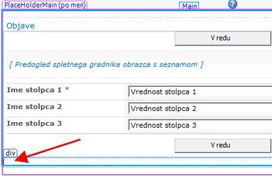 Obrazci programa SharePoint Designer