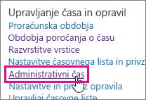Administrativni čas