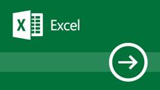 Izobraževanje za Excel 2016