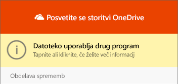 Pogovorno okno» datoteka v uporabi «v pogovornem oknu» OneDrive «