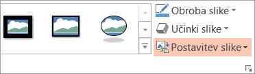 Pokaže gumb za postavitev slike – oblika «»