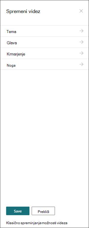 Slika gumba» spremeni videz «