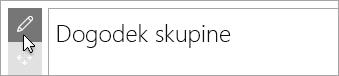 Urejanje spletnega gradnika Microsoft Forms.