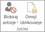 Zaščita dokumenta