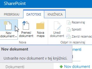 Nov dokument