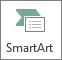 Gumb SmartArt v normalni velikosti
