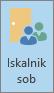Outlook, gumb za iskanje sobe