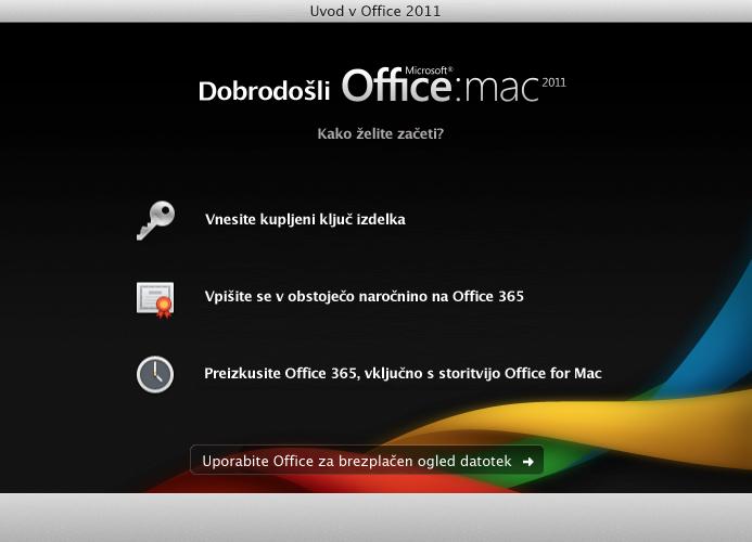Vpis v obstoječo naročnino na Office 365