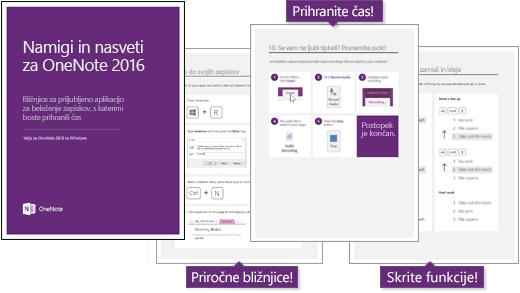 eBook: OneNote 2016 namigi in nasveti