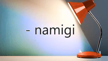 Luč sveti na besedo »Namigi«