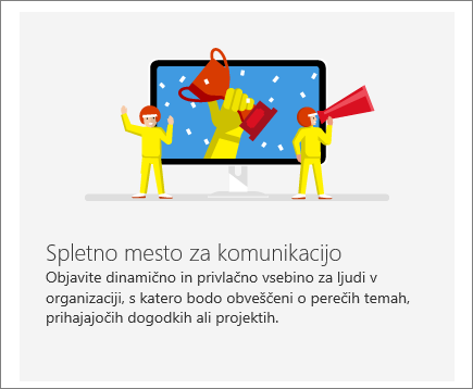Komunikacija s SharePointom Office 365 mesta