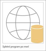 Ikona programa po meri spletnega dostopa
