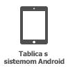 Ikona za tablični računalnik s sistemom Android