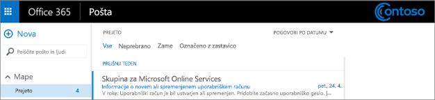 Slika hiperpovezave do spletnega mesta skupine