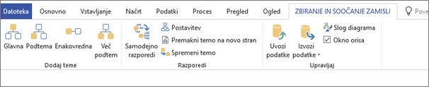Brainstorming toolbar