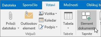 Nova e-pošta v Outlooku